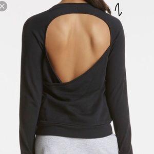 Open Back Fabletics Sweatshirt